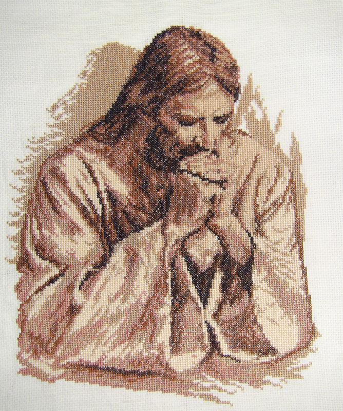 Вышивка иисус христос 44